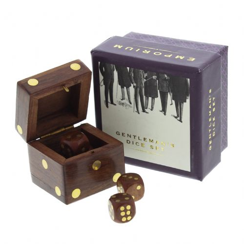 Emporium Dice In Wooden Box